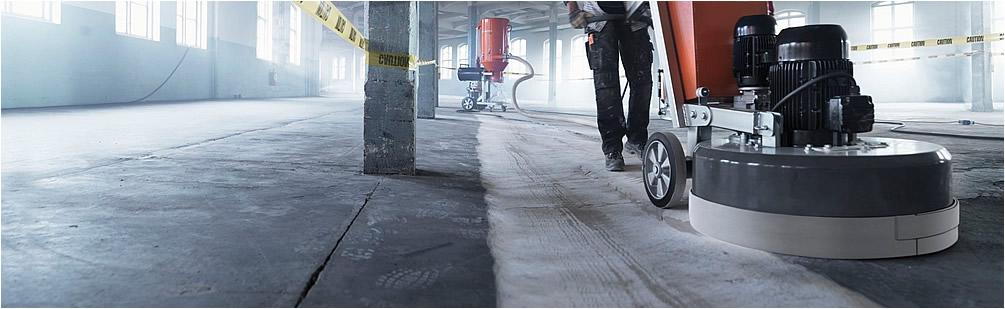 влажная шлифовка бетона